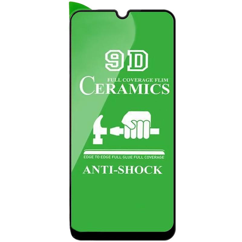 Защитная пленка Ceramics 9D (без упак.) для Realme C3 / C11 / 6i / 5i / 5