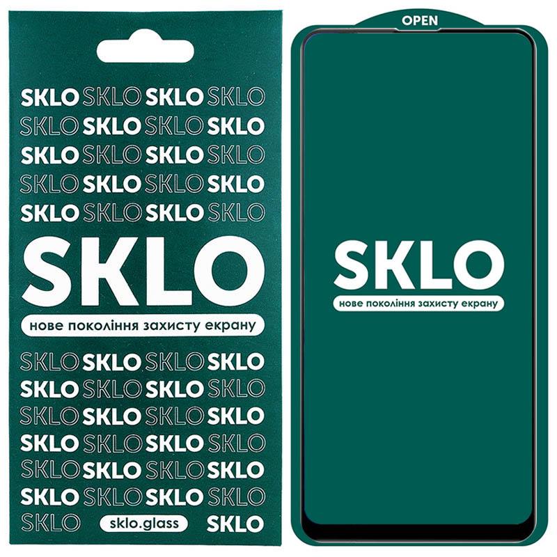 Защитное стекло SKLO 5D (full glue) для Xiaomi Redmi 9 / Poco M3 / Note 9 4G / Redmi 9T