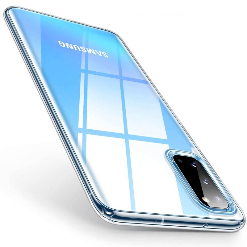 TPU чехол Epic Transparent 1,0mm для Samsung Galaxy S20