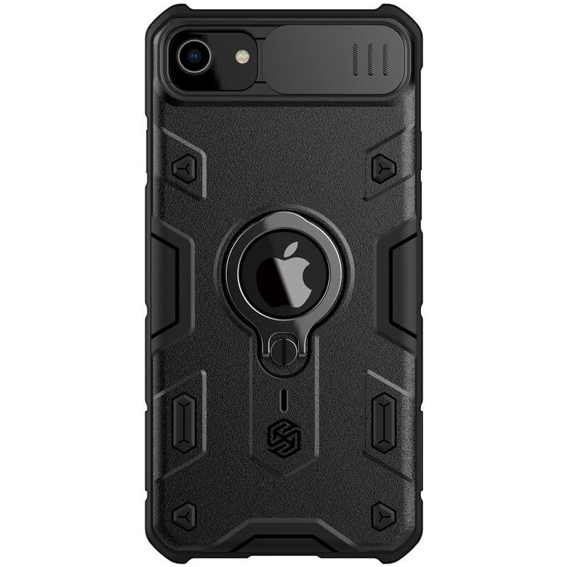 "TPU+PC чехол Nillkin CamShield Armor (шторка на камеру) для Apple iPhone 7 / 8 / SE (2020) (4.7"")"