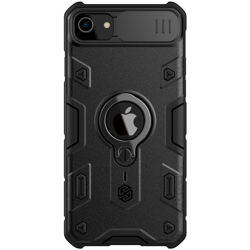 "TPU+PC чехол Nillkin CamShield Armor (шторка на камеру) для Apple iPhone 7 / 8 / SE (2020) (4.7"")"