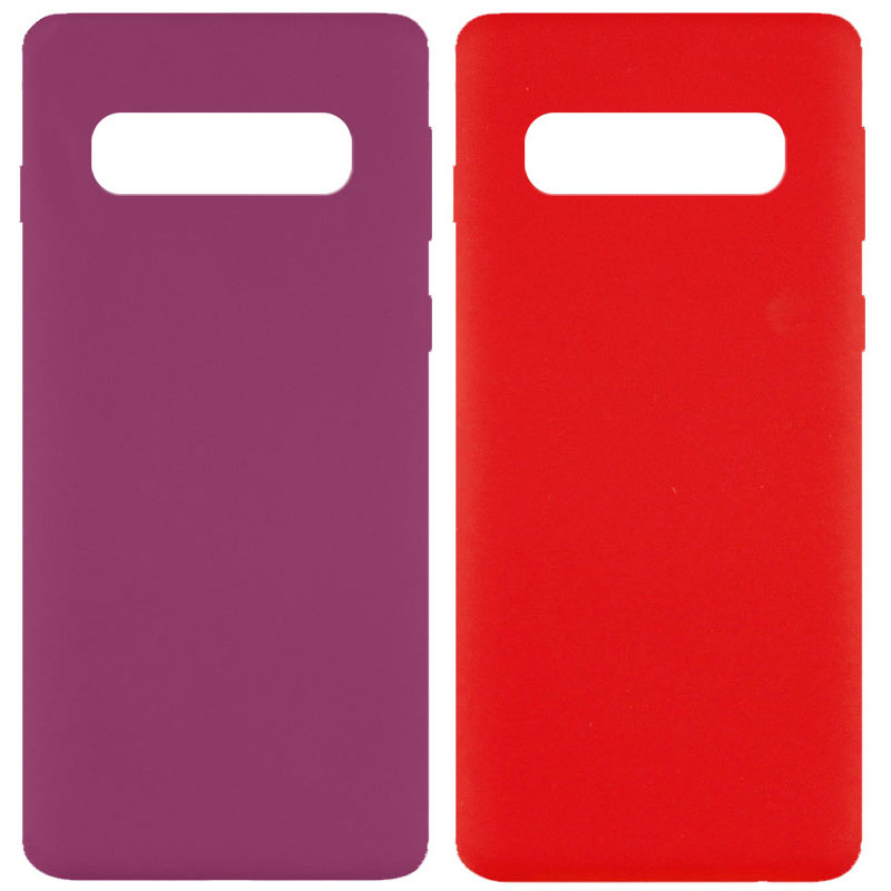 Чехол Silicone Cover Full without Logo (A) для Samsung Galaxy S10
