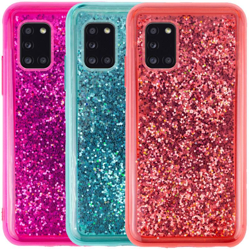TPU+PC чехол Sparkle (glitter) для Samsung Galaxy A31