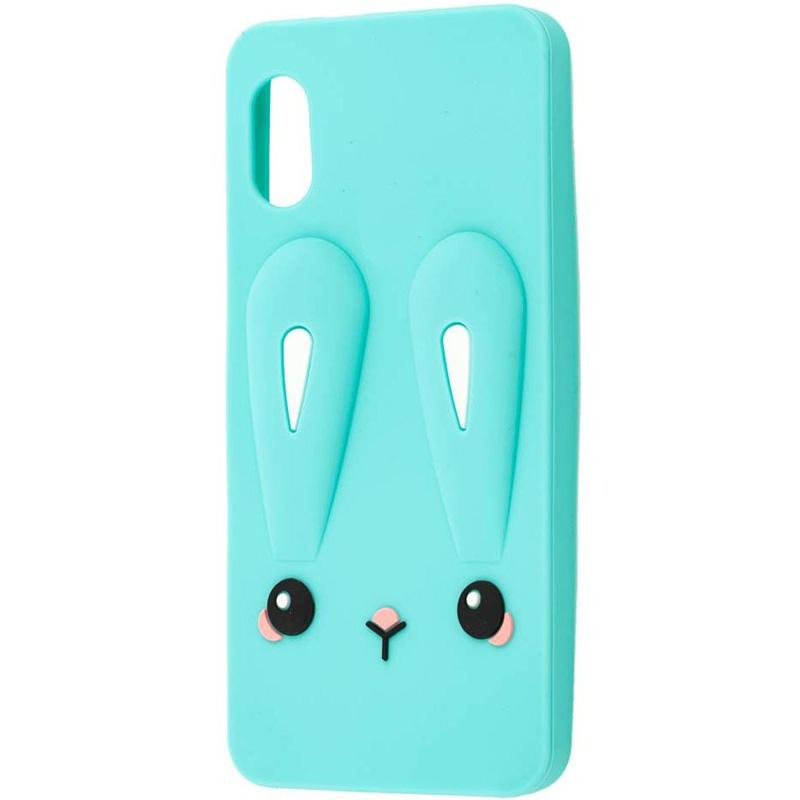 Силиконовая накладка 3D Child Bunny для Xiaomi Redmi 7A