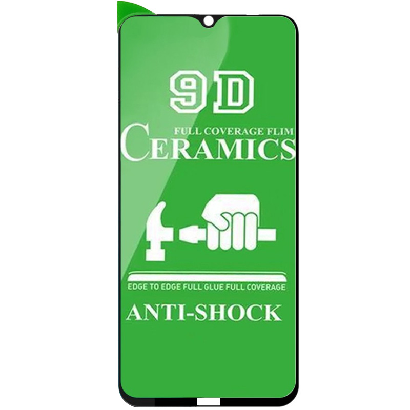 Защитная пленка Ceramics 9D (без упак.) для Xiaomi Redmi Note 8T