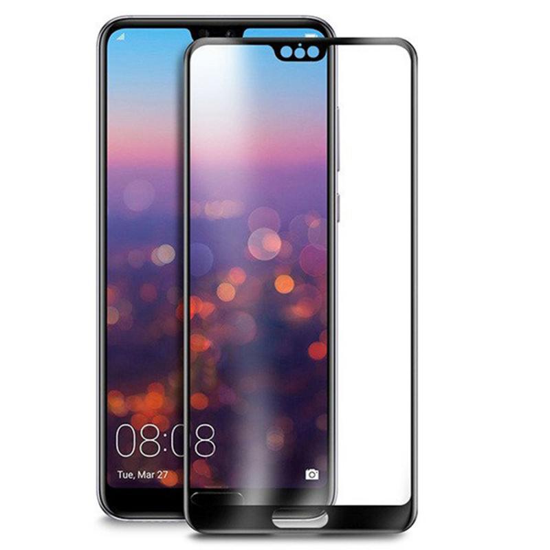 Защитное цветное стекло Mocolo (full glue) на весь экран для Huawei P20 Lite