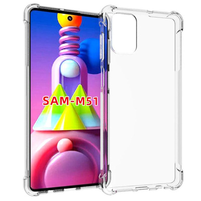 TPU чехол Epic Ease с усиленными углами для Samsung Galaxy M51
