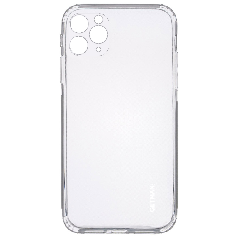 "TPU чехол GETMAN Clear 1,0 mm для Apple iPhone 11 Pro (5.8"")"