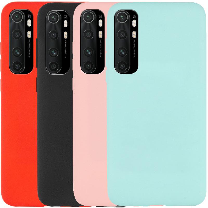 Силиконовый чехол Candy для Xiaomi Mi Note 10 Lite