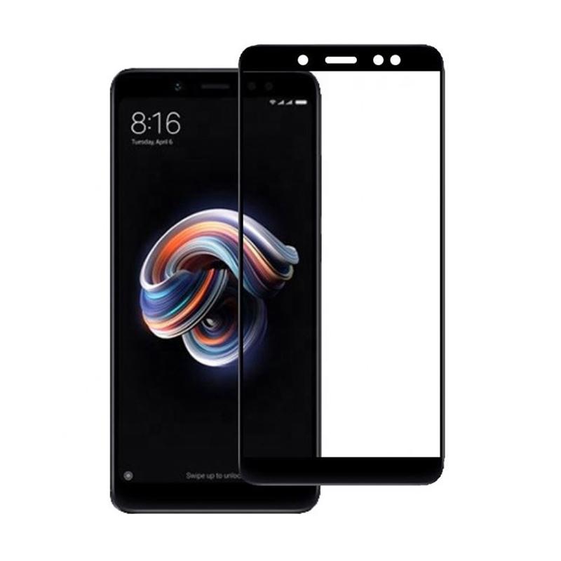 Защитное стекло 10D (full glue) (без упаковки) для Xiaomi Redmi Note 5 Pro / Note 5 (AI Dual Camera)