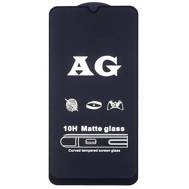 Защитное стекло 2.5D CP+ (full glue) Matte для Samsung A20/A30/A30s/A50/A50s/M30/M30s/M31/M21/M21s