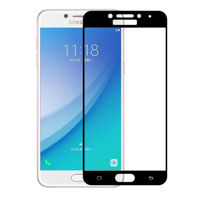 Защитное цветное стекло Mocolo (full glue) на весь экран для Samsung A720 Galaxy A7 (2017)