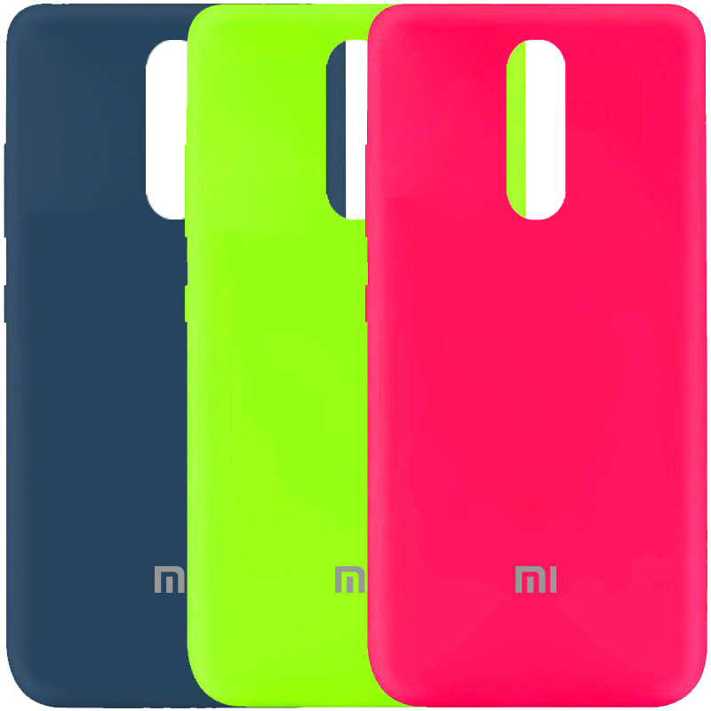 Чехол Silicone Cover My Color Full Protective (A) для Xiaomi Redmi 8