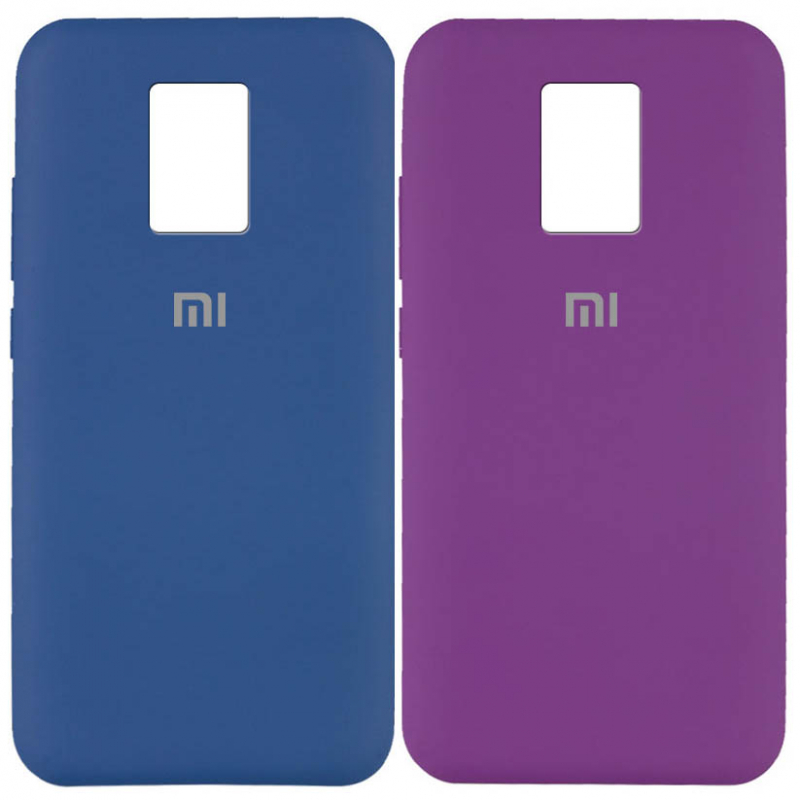 Чехол Silicone Cover Full Protective (AA) для Xiaomi Redmi Note 9s / Note 9 Pro / Note 9 Pro Max