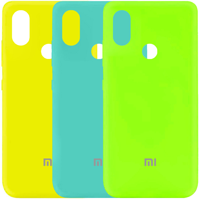 Чехол Silicone Cover My Color Full Protective (A) для Xiaomi Mi 6X / Mi A2