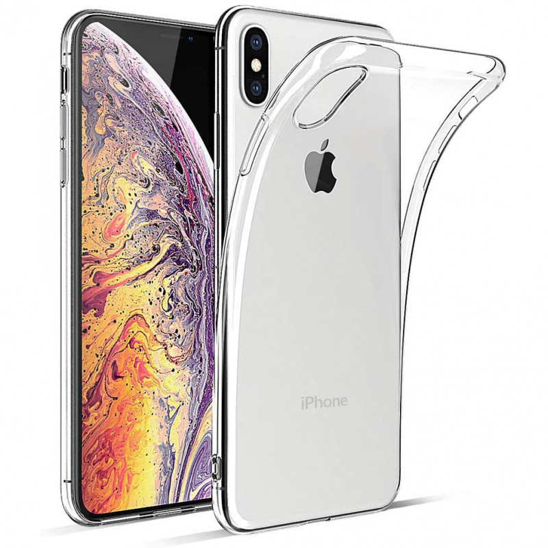 "TPU чехол Epic Transparent 1,0mm для Apple iPhone X / XS (5.8"")"