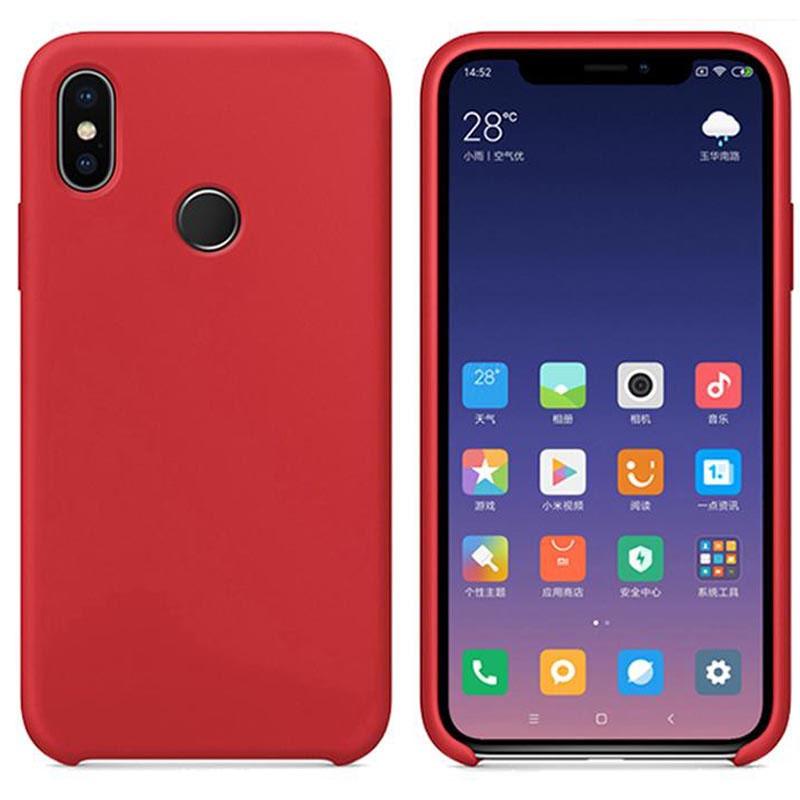 Силиконовый чехол Deen Silicone Case для Xiaomi Redmi Note 6 Pro