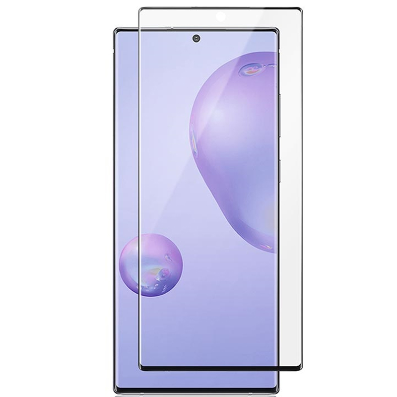Защитное цветное 3D стекло Mocoson (full glue) для Samsung Galaxy Note 20