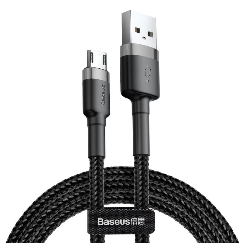 Дата кабель Baseus Cafule MicroUSB Cable 2.4A (1m)