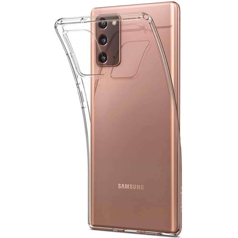 TPU чехол Epic Transparent 1,0mm для Samsung Galaxy Note 20