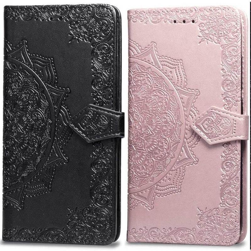 Кожаный чехол (книжка) Art Case с визитницей для Samsung J600F Galaxy J6 (2018)