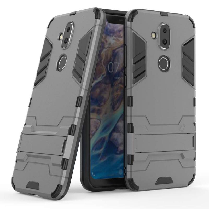 Ударопрочный чехол-подставка Transformer для Nokia 8.1 (Nokia X7) с мощной защитой корпуса