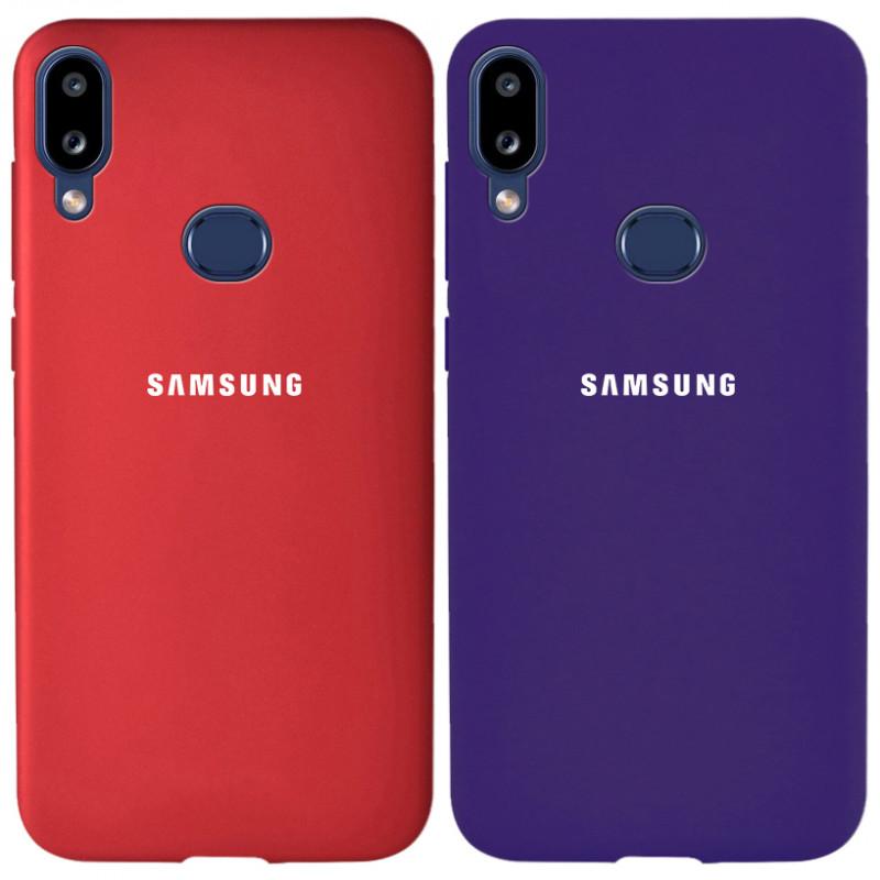 Чехол-накладка Soft-touch logo series для Samsung Galaxy A10s