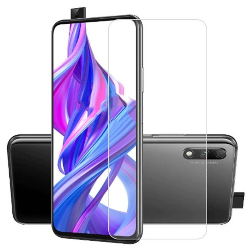 Гибкое защитное стекло 2.5D Nano (без упаковки) для Huawei P Smart Z / Honor 9X / 9X Pro