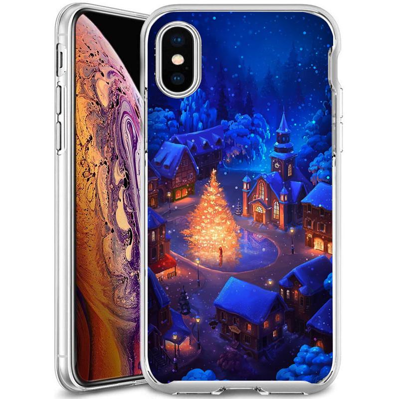 "TPU чехол Зимняя сказка для Apple iPhone XS (5.8"")"