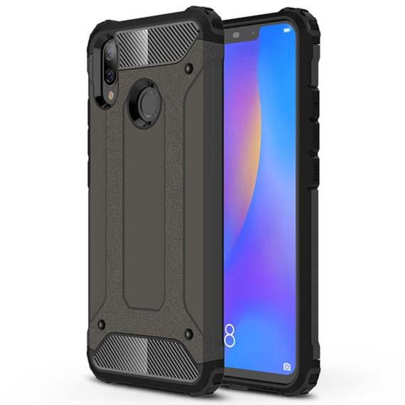 Бронированный противоударный TPU+PC чехол Immortal для Huawei P Smart+ (nova 3i)