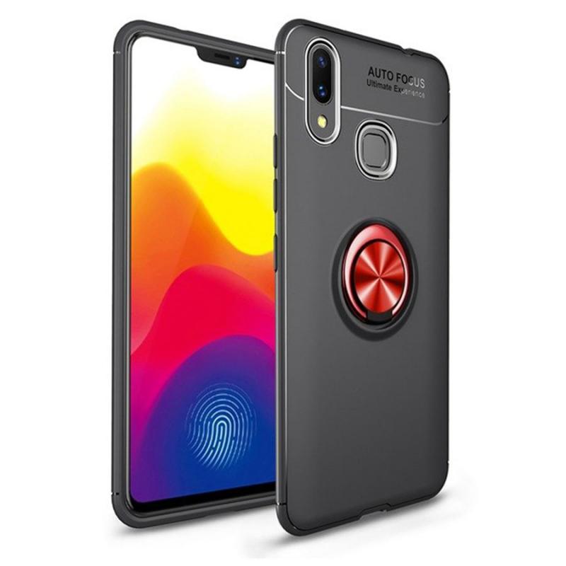 TPU чехол Deen ColorRing под магнитный держатель для Huawei P Smart (2019)