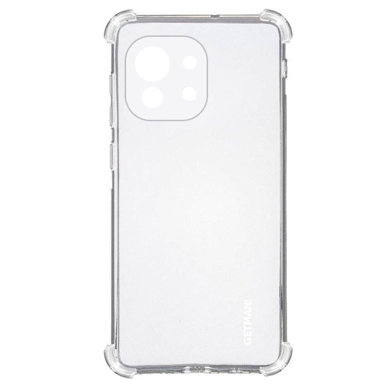 TPU чехол GETMAN Ease logo усиленные углы для Xiaomi Mi 11