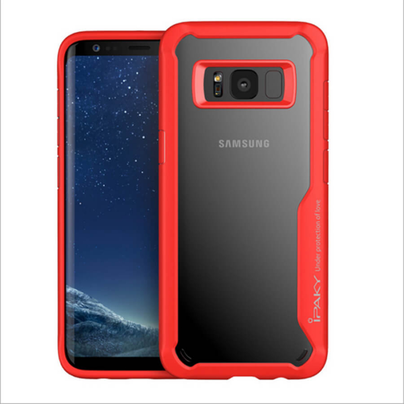 TPU+PC чехол iPaky Luckcool Series для Samsung G955 Galaxy S8 Plus