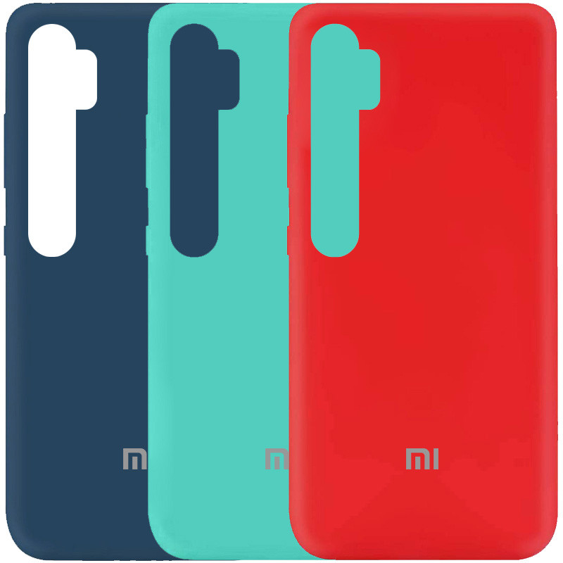Чехол Silicone Cover My Color Full Protective (A) для Xiaomi Mi Note 10 Lite / Note 10 / Note 10 Pro