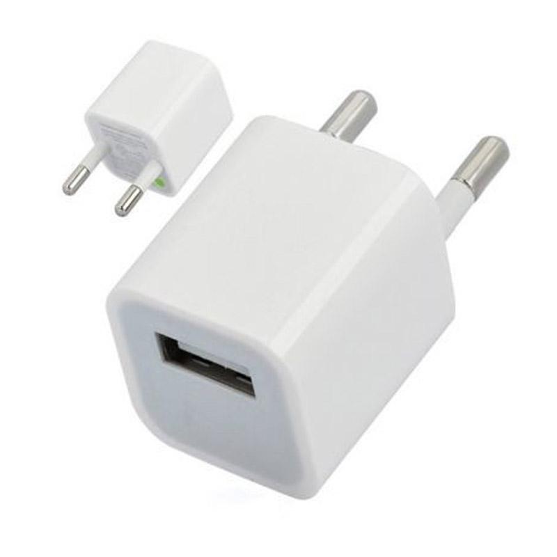 Сетевое зарядное устройство (5w 1A) для Apple iPhone / iPod (тех.упак)