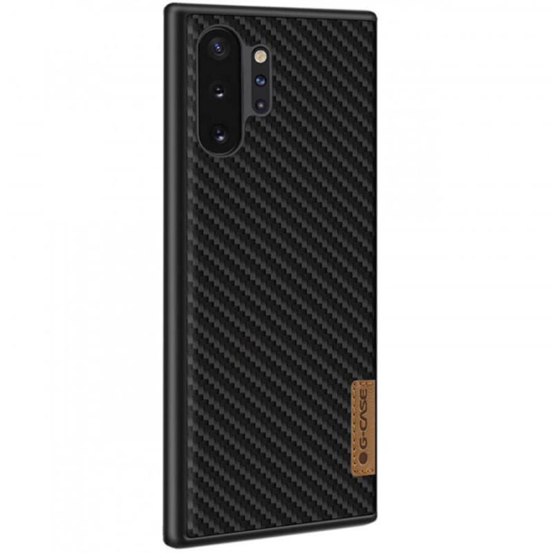 Карбоновая накладка G-Case Dark series для Samsung Galaxy Note 10 Plus