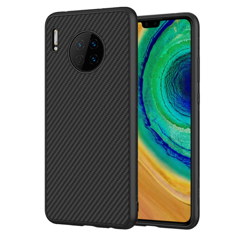 Карбоновая накладка Nillkin Synthetic Fiber series для Huawei Mate 30
