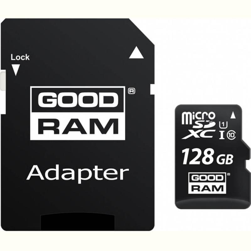 Карта памяти GoodRam microSDXC UHS-1 128 GB Class 10 + SD adapter