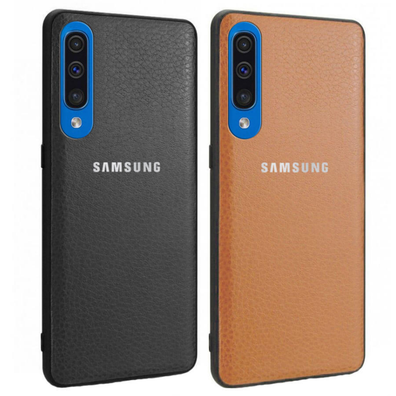 Кожаная накладка Classic series для Samsung Galaxy A50 (A505F) / A50s / A30s