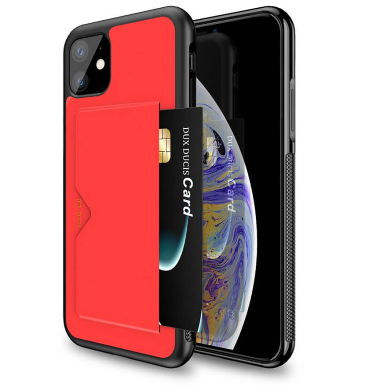 "Кожаная накладка Dux Ducis Pocard для Apple iPhone 11 (6.1"")"
