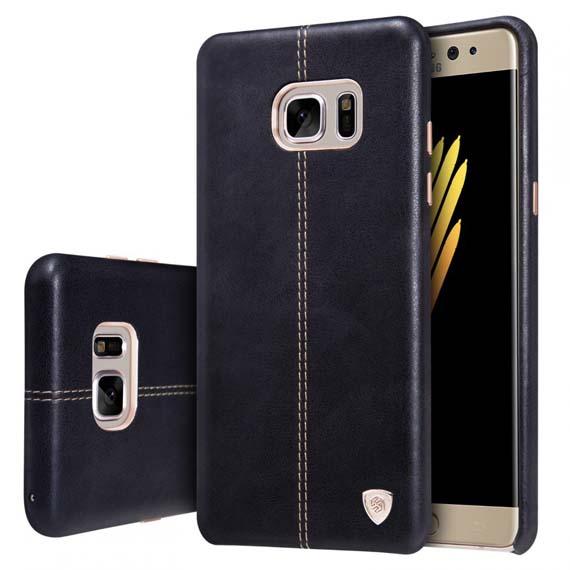 Кожаная накладка Nillkin Englon Series для Samsung N935 Galaxy Note Fan Edition