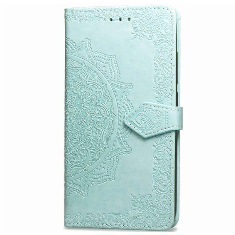 Кожаный чехол (книжка) Art Case с визитницей для Huawei Y6p