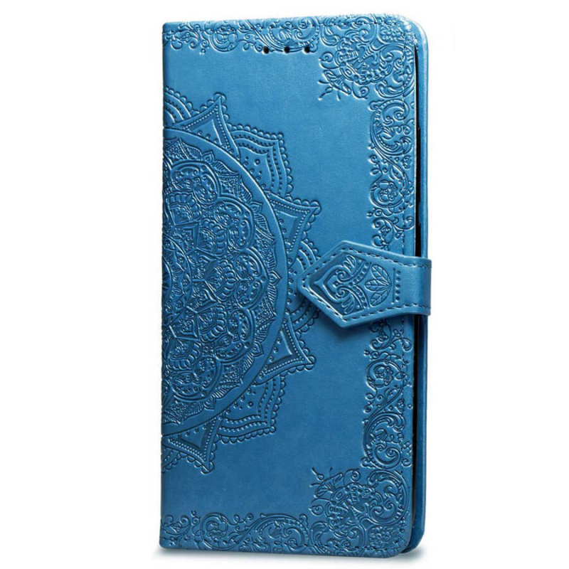 Кожаный чехол (книжка) Art Case с визитницей для Meizu M6 Note