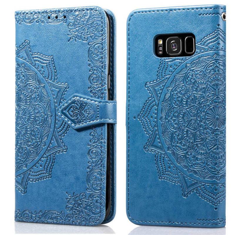 Кожаный чехол (книжка) Art Case с визитницей для Samsung G950 Galaxy S8