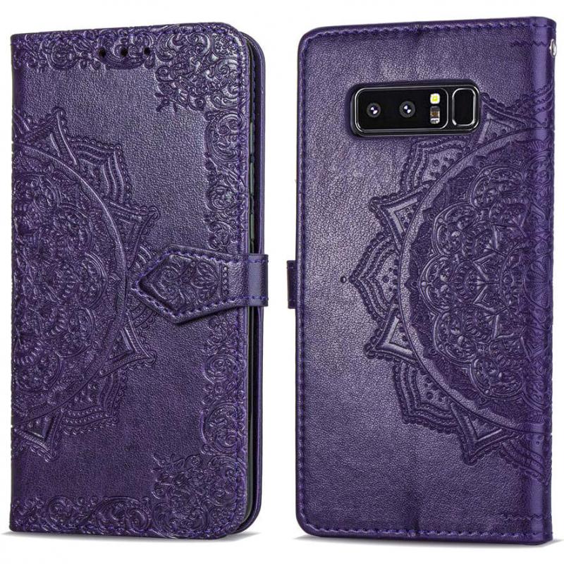 Кожаный чехол (книжка) Art Case с визитницей для Samsung Galaxy Note 8