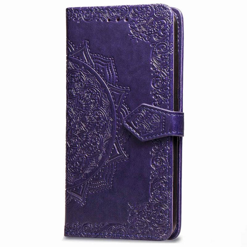Кожаный чехол (книжка) Art Case с визитницей для Xiaomi Mi Max 3