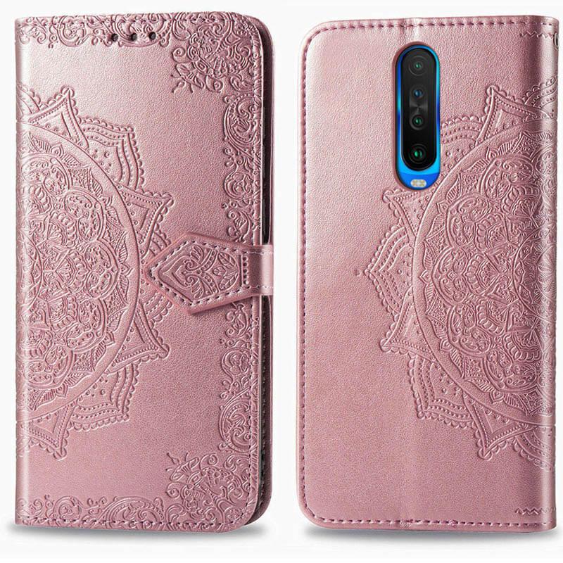 Кожаный чехол (книжка) Art Case с визитницей для Xiaomi Redmi K30 / Poco X2