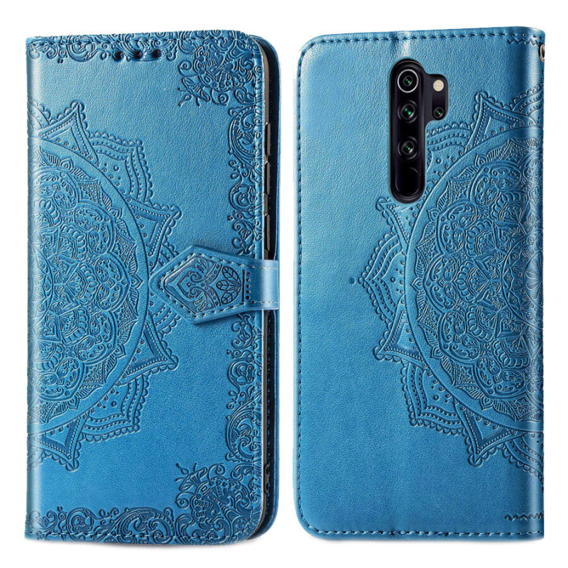 Кожаный чехол (книжка) Art Case с визитницей для Xiaomi Redmi Note 8 Pro