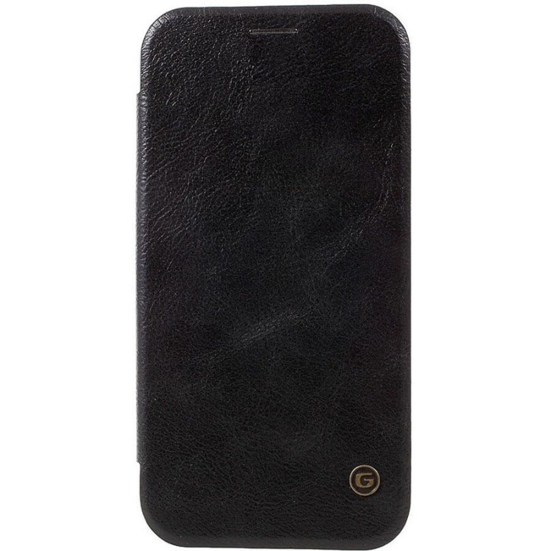 Кожаный чехол книжка G-Case Vintage Business Series для Samsung Galaxy J4+ (2018)
