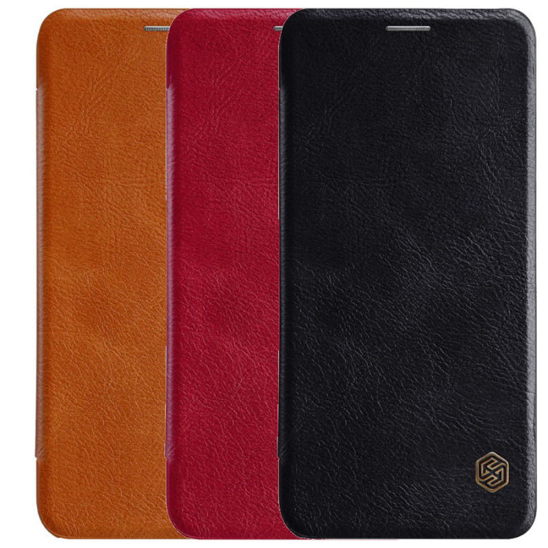 Кожаный чехол (книжка) Nillkin Qin Series для Xiaomi Mi 6